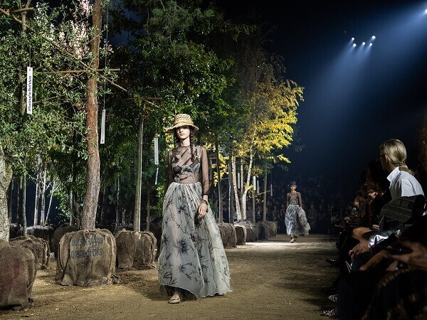Dior clothing impact on the environment