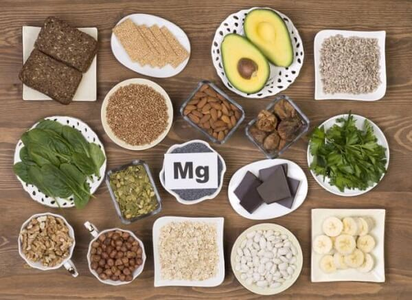 List of foods that are high in Magnesium