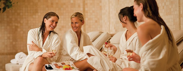 Relax at a spa
