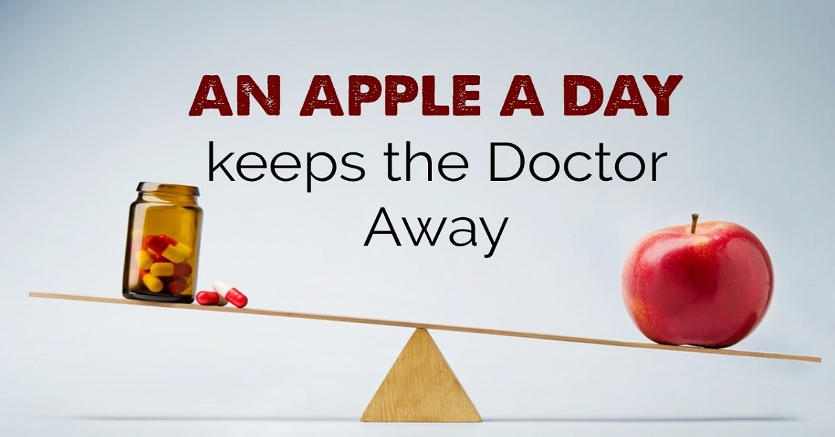 who said an apple a day keeps the doctor away