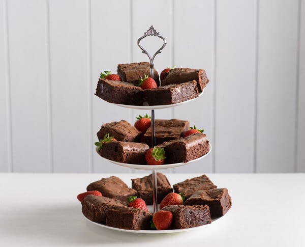 A Brownie Tower 12