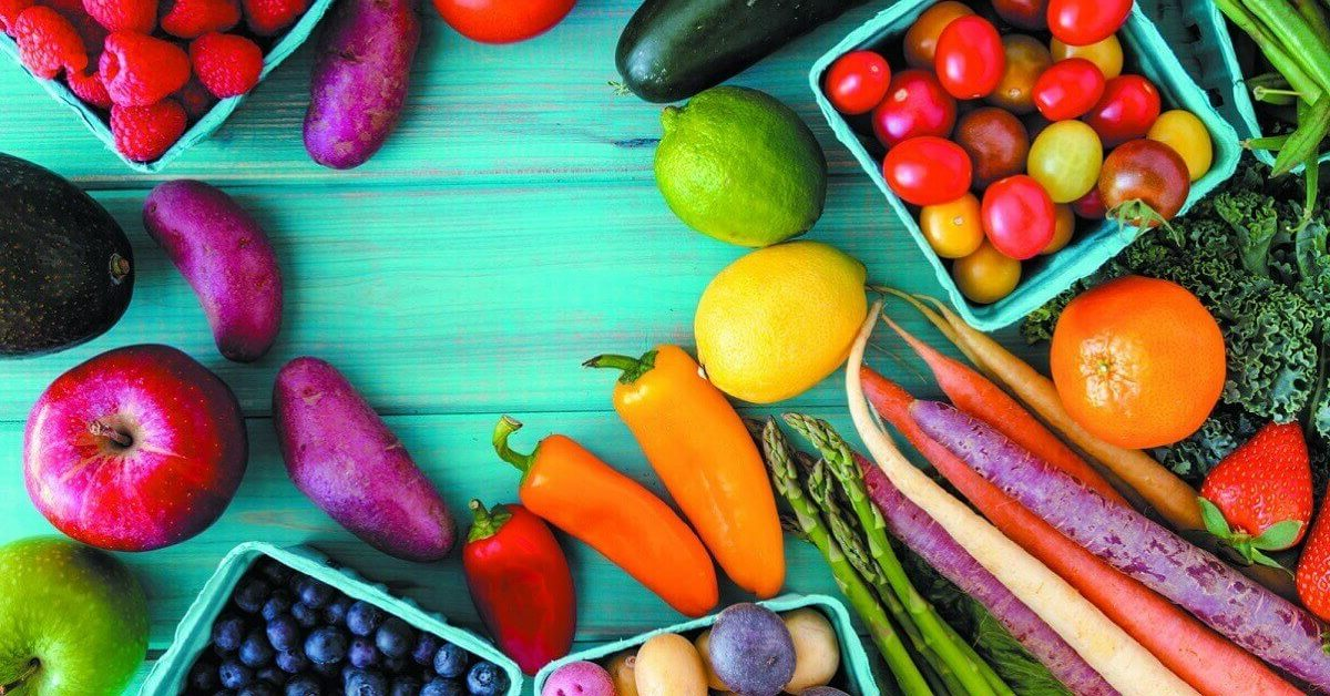 lists of Fruit and vegetable