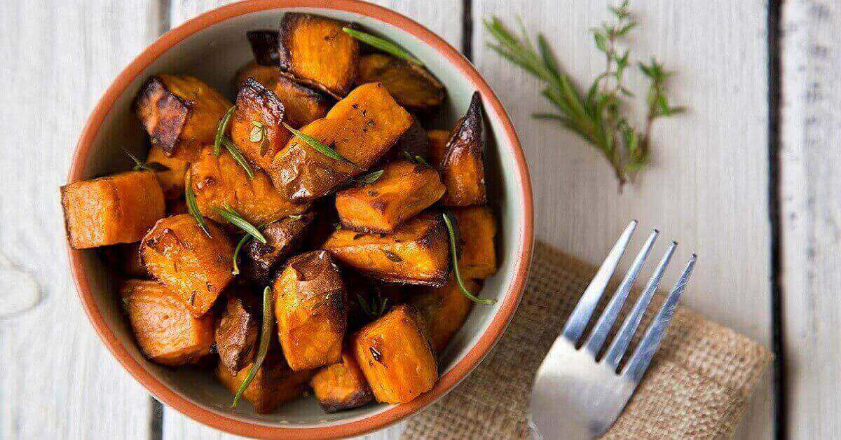 Is sweet potato a vegetable or starch