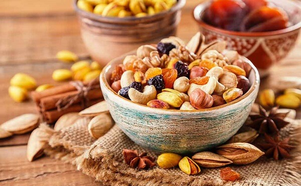 Dry Fruits do not support Bacteria Growth
