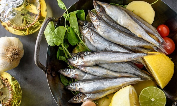 Foods that contain high content of omega 3 fatty acids