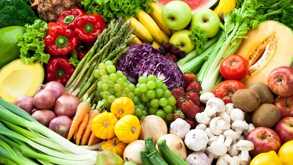 Fruits and Vegetables do not support Bacteria Growth