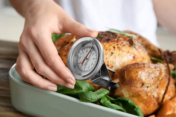 How much time do you need to hold hot-degree foods