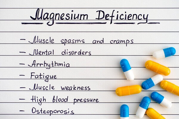 What could happen if you are not having enough magnesium