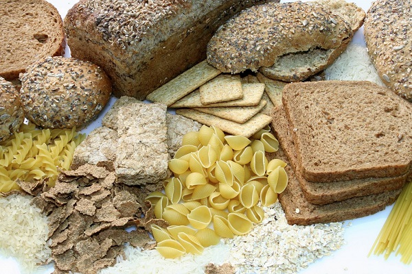 tortillas, bread, white pasta varieties, and rice
