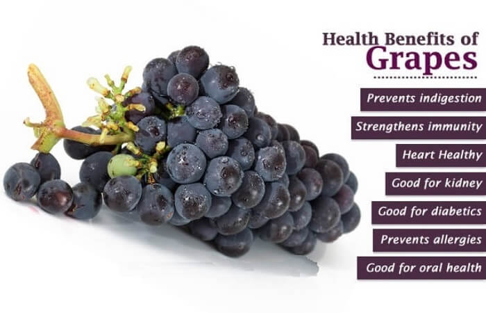 Some special facts about grapes