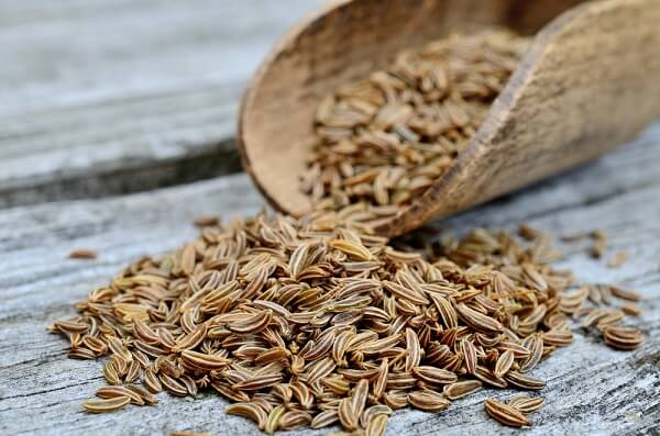 The flavor of the caraway seeds