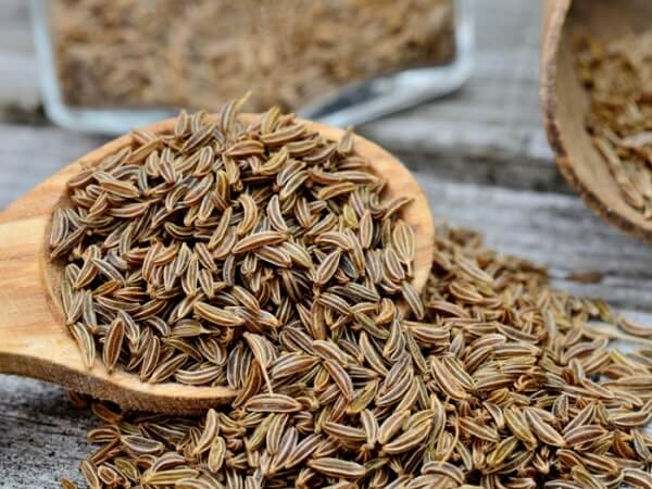 Types of Beverages and foods that contain caraway seeds