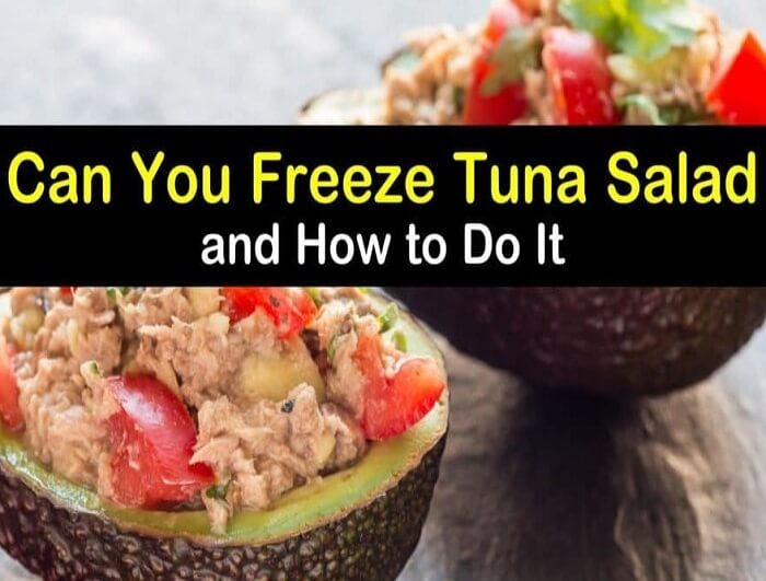 What is the best way to store tuna salad in the fridge