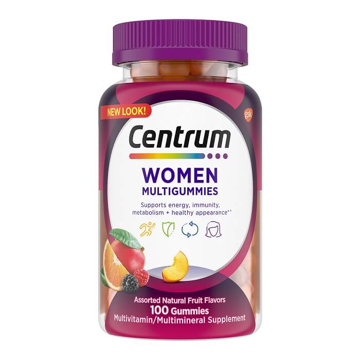 Centrum Vitamins Come in a Variety of Forms