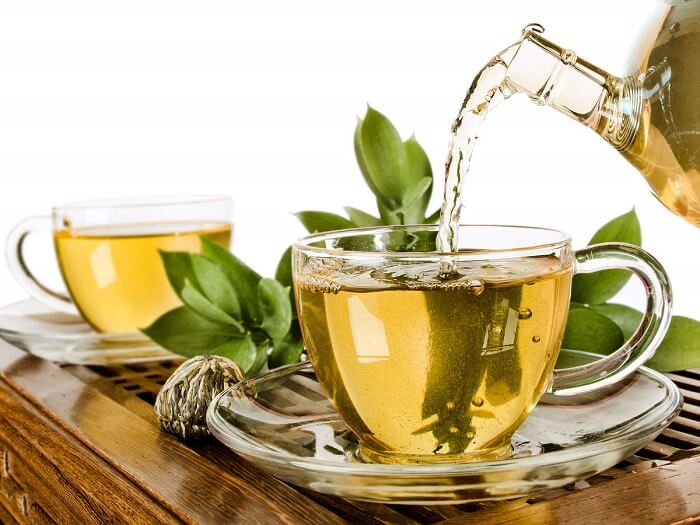 How much green tea should one drink over the course of a 30-year plan