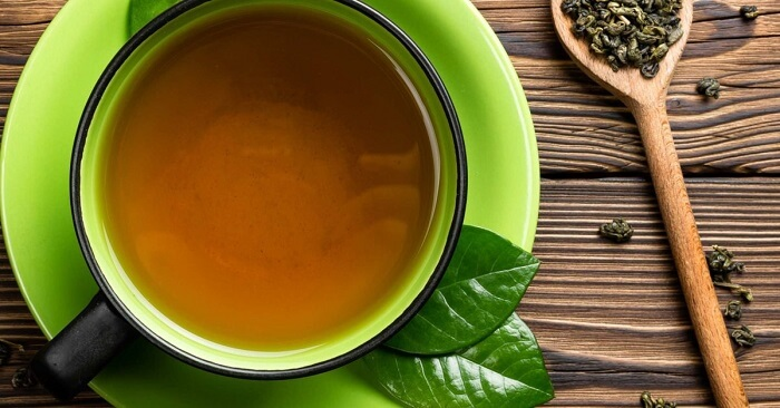How much green tea should one drink