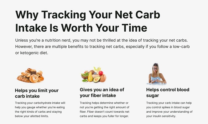 Why the number of net carbs matters in keto
