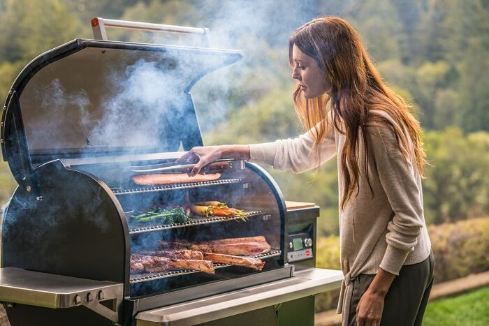 grilling, of course, is in the summer