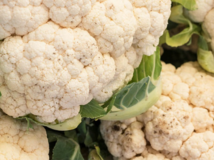 How do you tell if the cauliflower is rotten