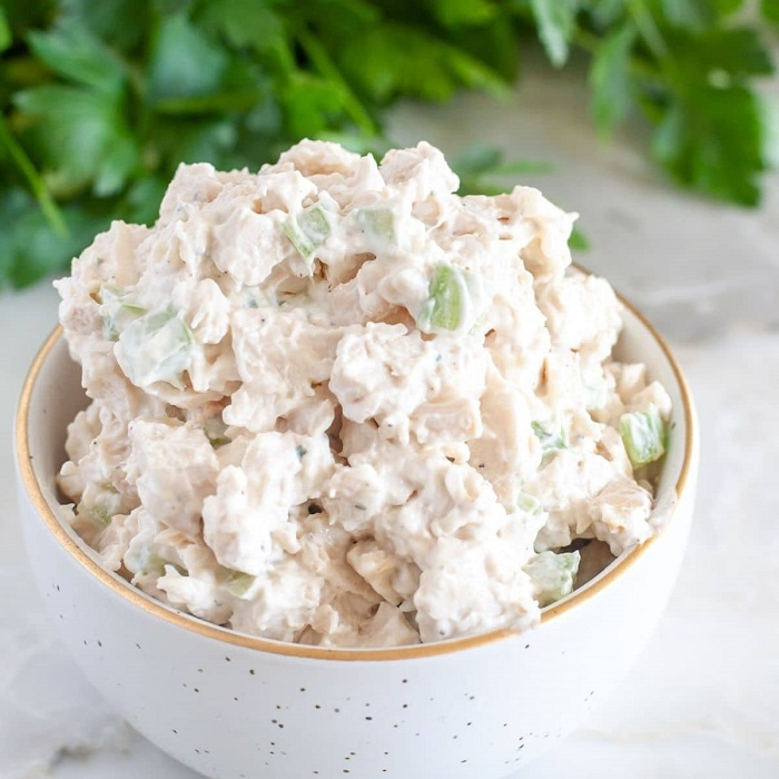 Is it possible to freeze mayonnaise chicken salad