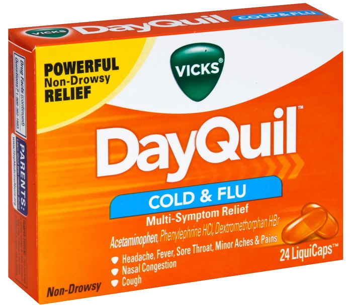Vicks DayQuil Cold and Flu Multi-Symptom Relief