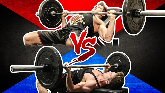 What is the difference between regular bench press